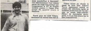 1985-11-07 - Francis Beaulieu Cos Villers