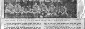 Les origines du COS Villers Rugby